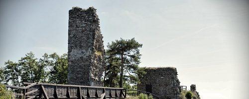 Zřícenina hradu Zubštejn